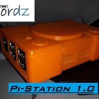 Small Pi-Station 1 (Raspberry Pi 2 case) 3D Printing 44303