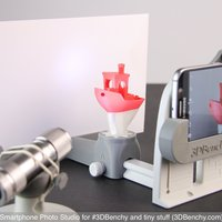 Small Smartphone Photo Studio for #3DBenchy and tiny stuff 3D Printing 44368