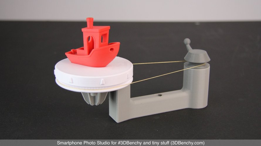 Smartphone Photo Studio for #3DBenchy and tiny stuff 3D Print 44369