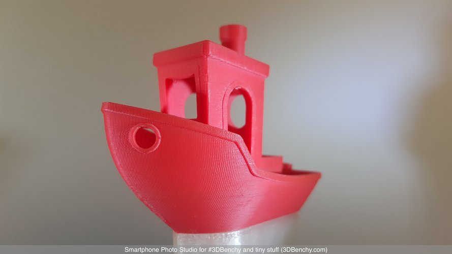 Smartphone Photo Studio for #3DBenchy and tiny stuff 3D Print 44372