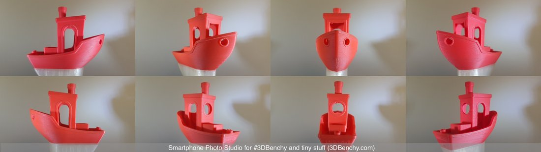 Smartphone Photo Studio for #3DBenchy and tiny stuff 3D Print 44376