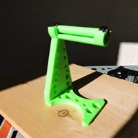 Small Mike's Spool Holder 3D Printing 44424