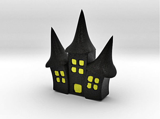 Haunted House 3D Print 44436