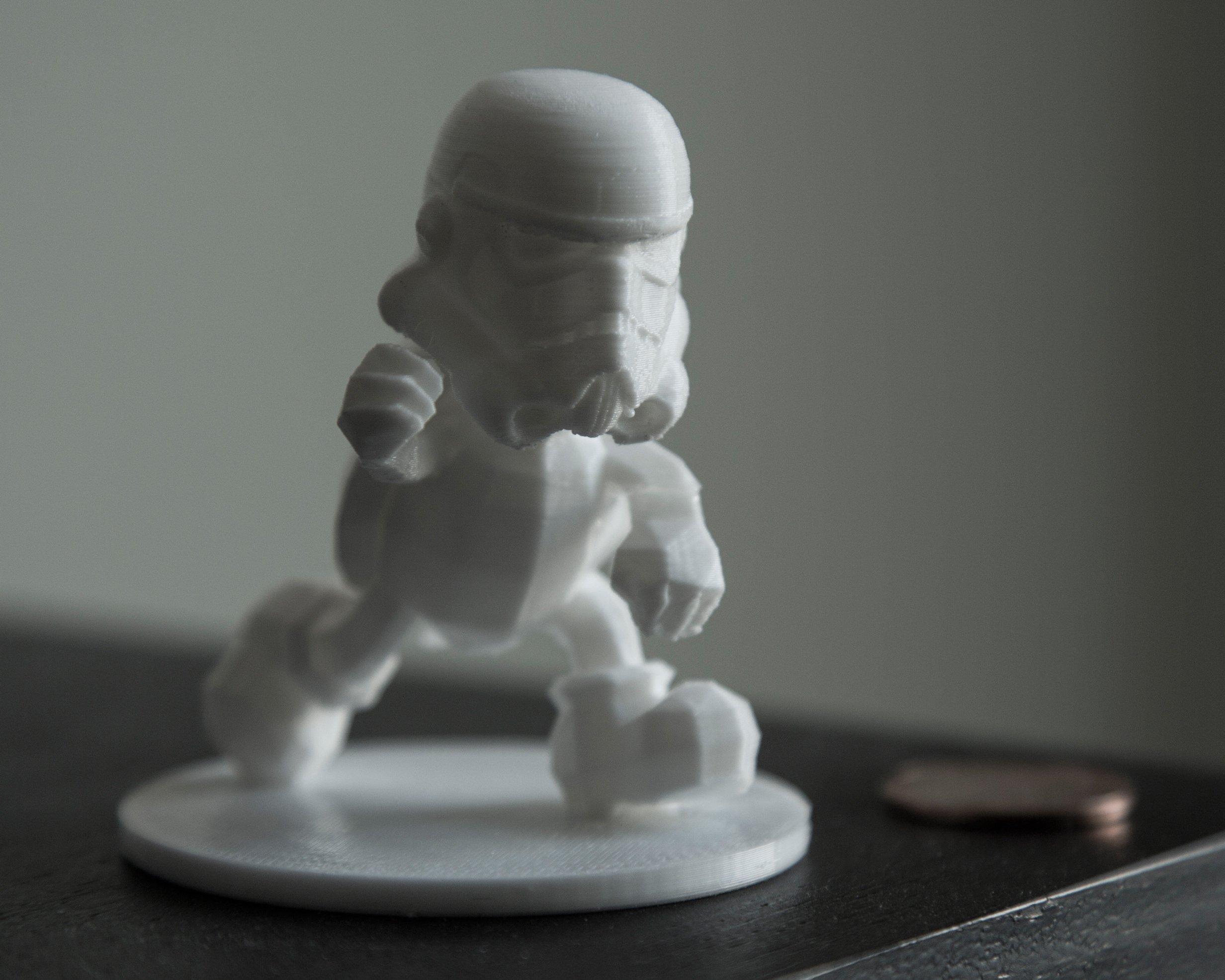 3d printed stormtroopa stormtrooper koopa troopa statue by rigelbot pinshape
