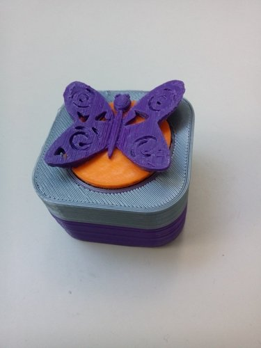 Butterfly giftbox 3D Print 44472
