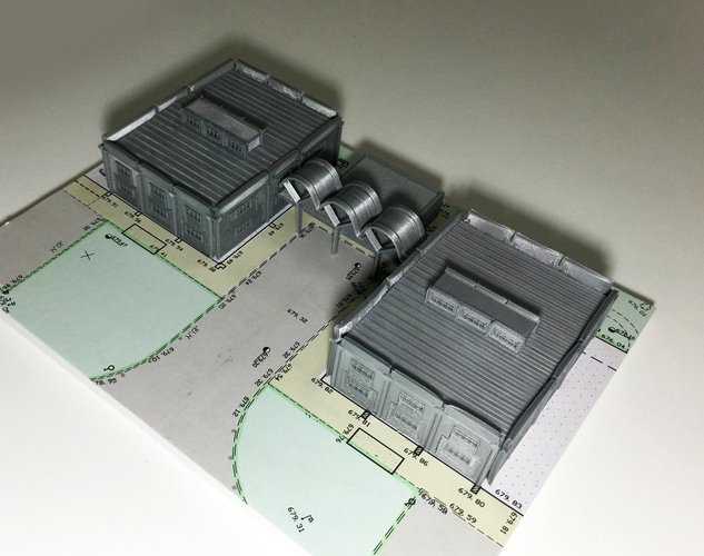Warehouse Model 3D Print 44624