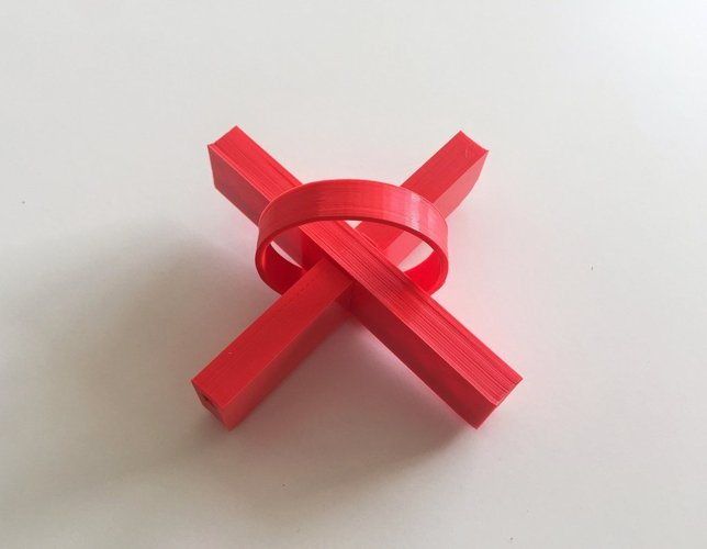 The Impossible puzzle 3D Print 44687