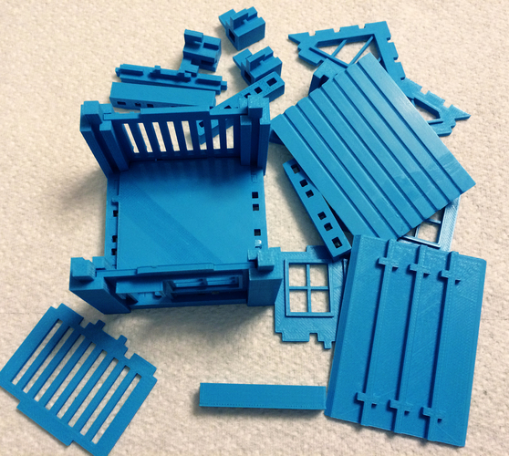 Printable Architectural Kit (Series 1) 3D Print 4479