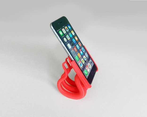 Iphone 6 (plus) 2 parts stand  3D Print 44828