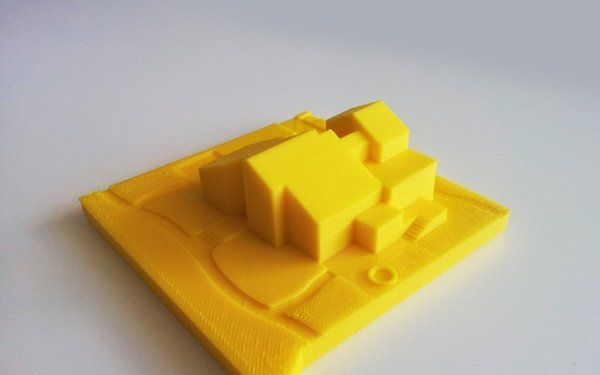 Medium BKN Family house 3D Printing 44964