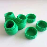 Small Bottle & Screw Cap 45 3D Printing 44966