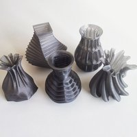 Small Vases 3D Printing 45028