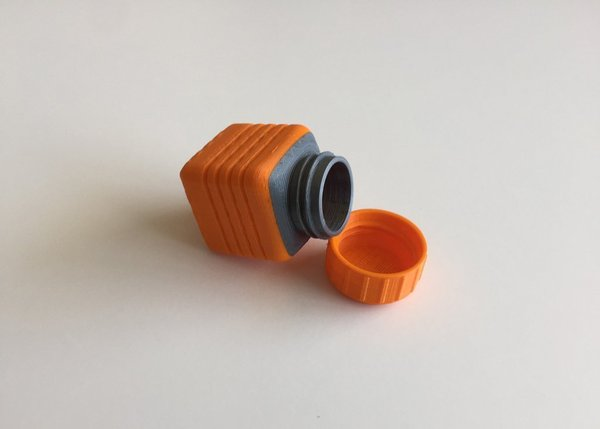 Medium Bottle and Screw Cap 22 3D Printing 45064