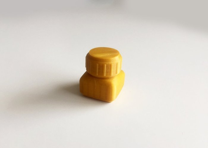 Bottle and Screw Cap 8 3D Print 45082
