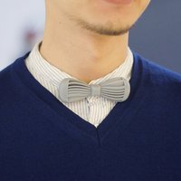 Small Twist Bow Tie 3D Printing 45208