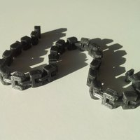 Small Bracelet (chain) 3D Printing 45222