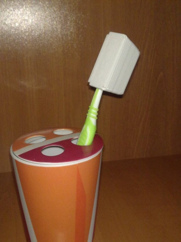 Medium toothbrush case 3D Printing 45246