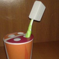 Small toothbrush case 3D Printing 45246