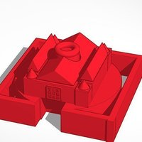 Small Cool Castle 3D Printing 45280