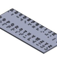 Small Braille System  3D Printing 45283