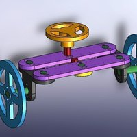 Small Updated Steering System 3D Printing 45286