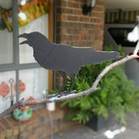 Small Raven silhouette 3D Printing 45328