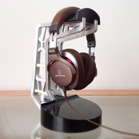 Small Headphone Stand 3D Printing 45380