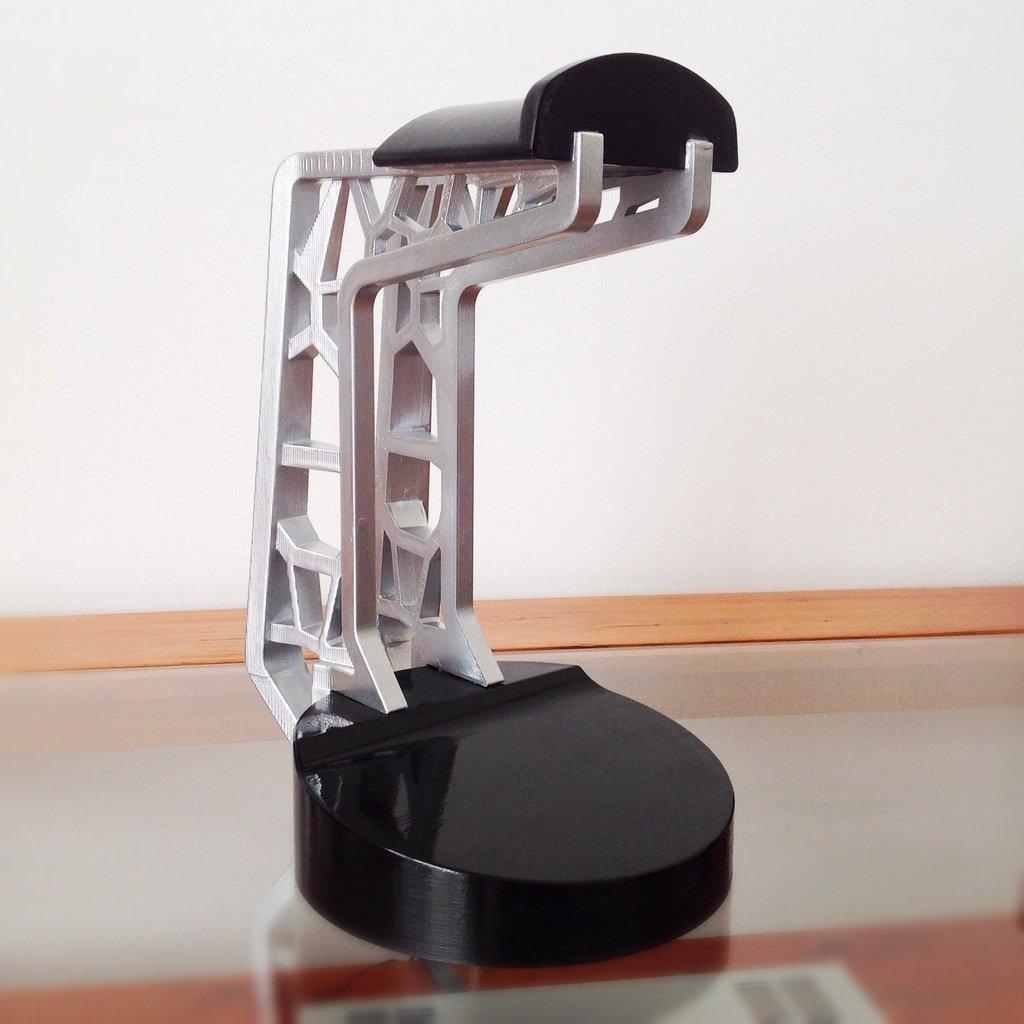 3D Printed Headphone Stand by adam molnar 1@gmail com | Pinshape