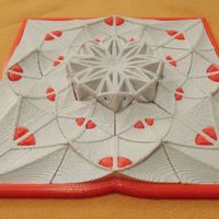 Small Muladhar-art collection. Square-Mandala 3D Printing 45508