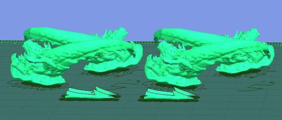 3D Printed Mini Shredder Ripper by onebitpixel | Pinshape