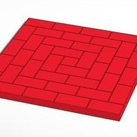 Small Brick Pattern Layouts for Lasercutter and 3D Printing 3D Printing 45680