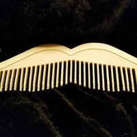Small Moustache comb 3D Printing 45991