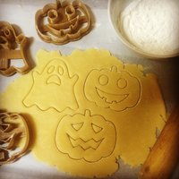 Small Halloween Cookie Cutter 3D Printing 46277
