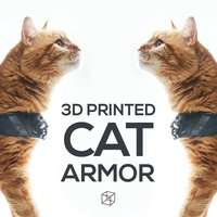 Small CAT ARMOR 3D Printing 46396