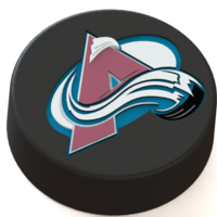 Small Colorado Avalanche logo on ice hockey puck 3D Printing 46456