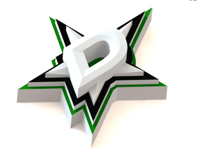 Moja téma - hokejbal | 14 - Stránka 2 Container_dallas-stars-logo-3d-printing-46466