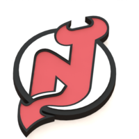 Small New Jersey Devils logo 3D Printing 46681
