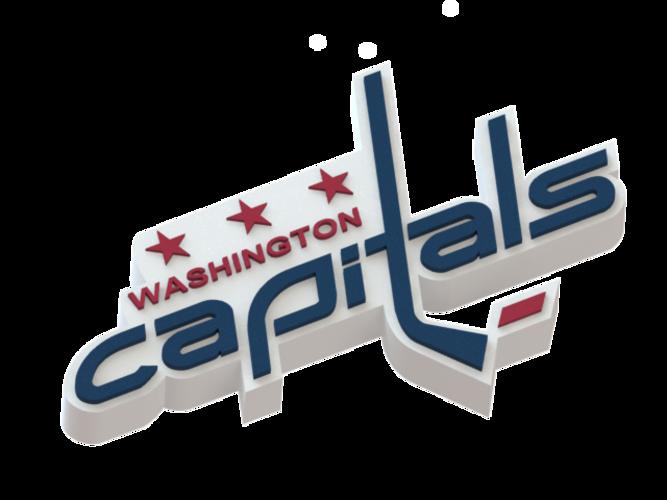 13176 3d Printed Washington Capitals Logo