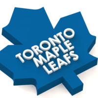 Small Toronto Maple Leafs logo 3D Printing 46718