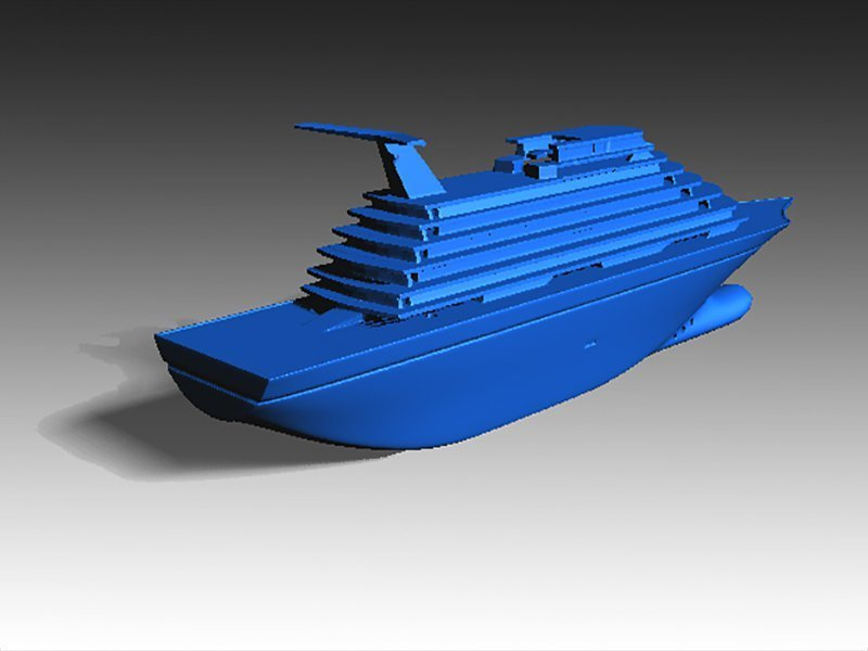 D Printed Toy Cruise Ship In By Creativeleo Pinshape - Toy cruise ship