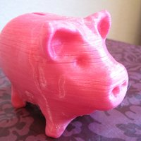 Small Piggy bank 3D Printing 46949
