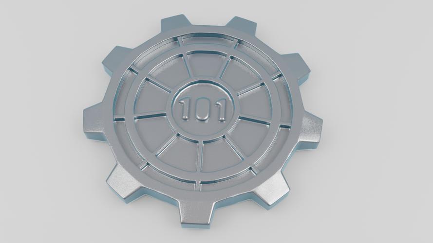 Vault Door Pint Coaster 3D Print 46969  sc 1 st  Pinshape & 3D Printed Vault Door Pint Coaster by Christian Palmroos | Pinshape