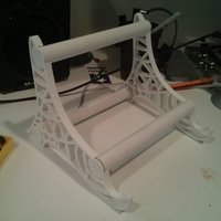 Small Macbook Pro Stand 3D Printing 47538