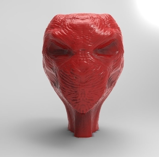 RED ALIEN BRUTE  (Updated 8-29-17) 3D Print 47606