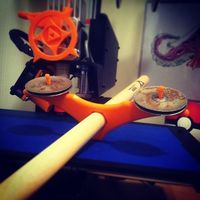 Small Drumstick Tambourine 3D Printing 47622