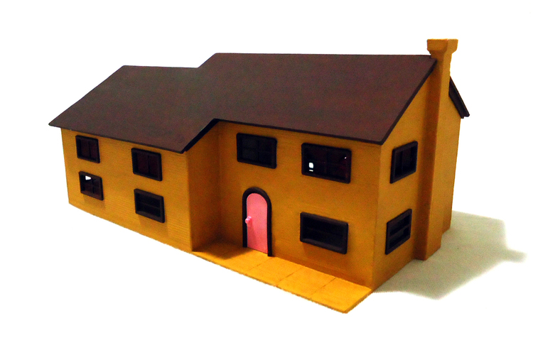 The Simpsons house 3D Print 47962