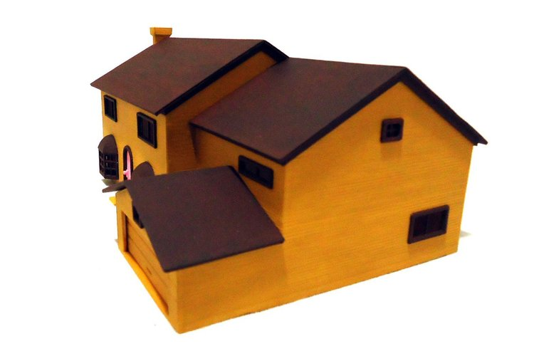 The Simpsons house 3D Print 47965