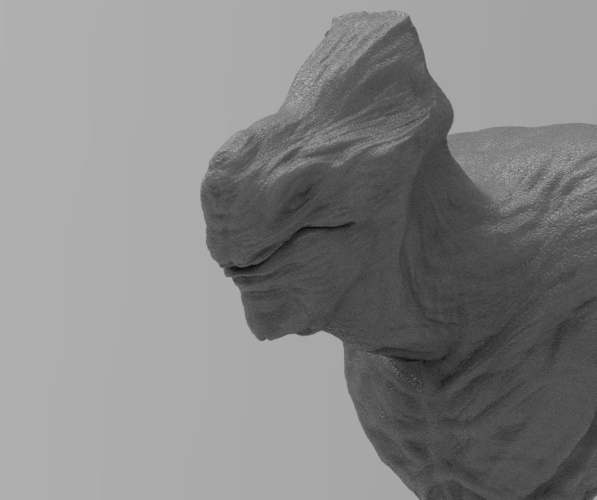 Grey Alien Scout UPDATED 8-29-17 3D Print 48035