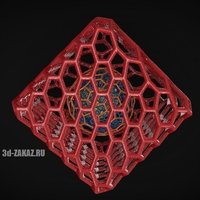 Small Structure of the Universe style Voronoi 3D Printing 48092