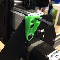 Small ShapeOko II Outside Belt Clamp - Add an inch of travel to your O 3D Printing 48109